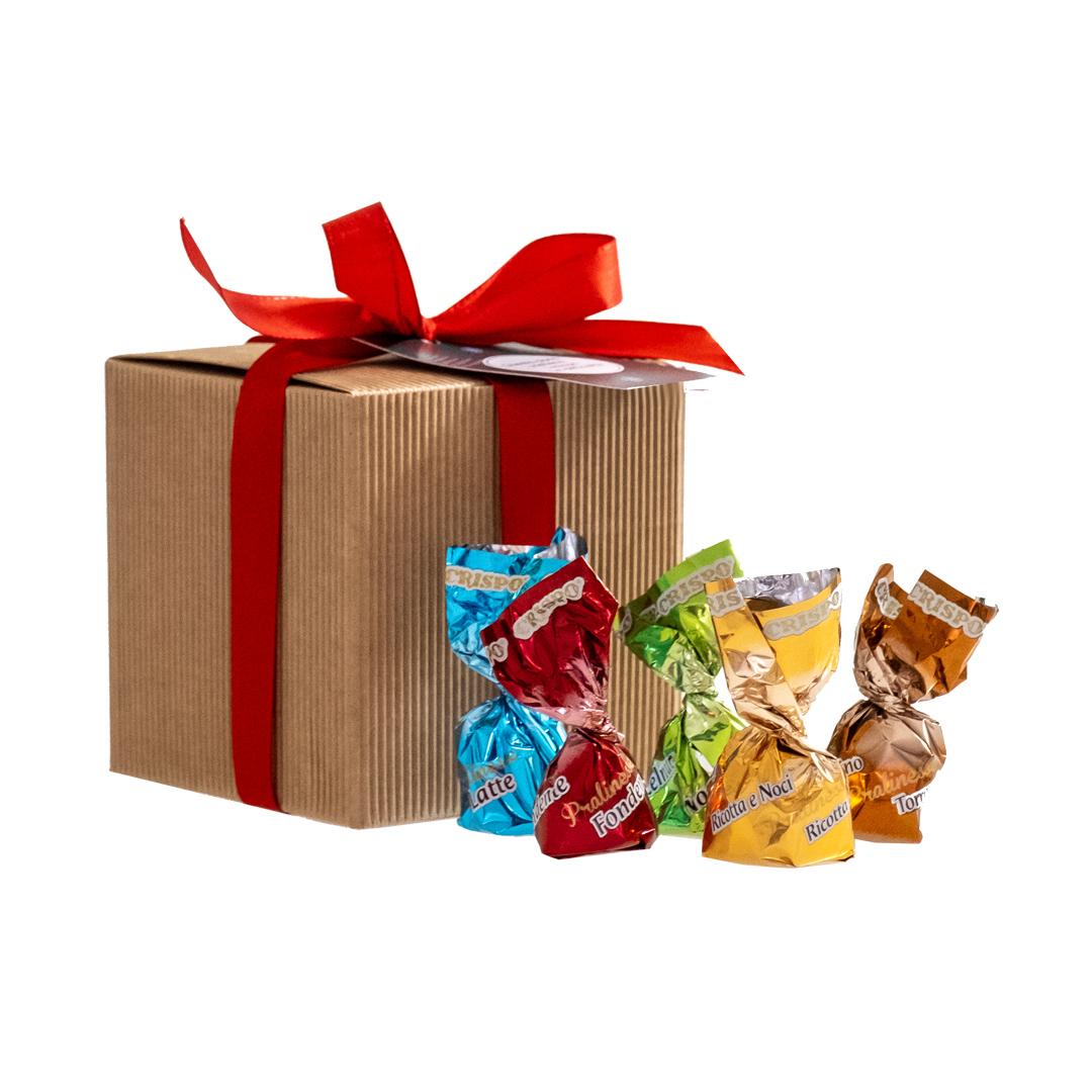 praline- regali di Natale solidali- Associazione CAF